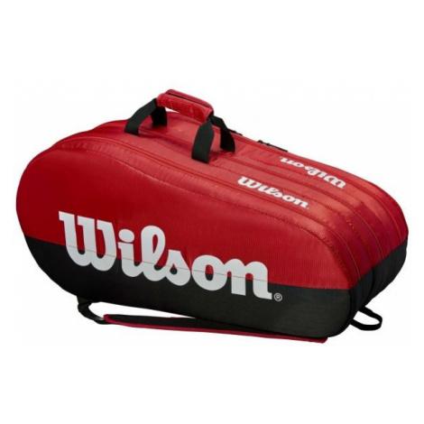 Wilson TEAM 3 COMP white - Tennis bag