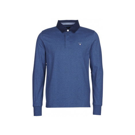 Gant THE ORIGINAL HEAVY RUGGER men's Polo shirt in Blue
