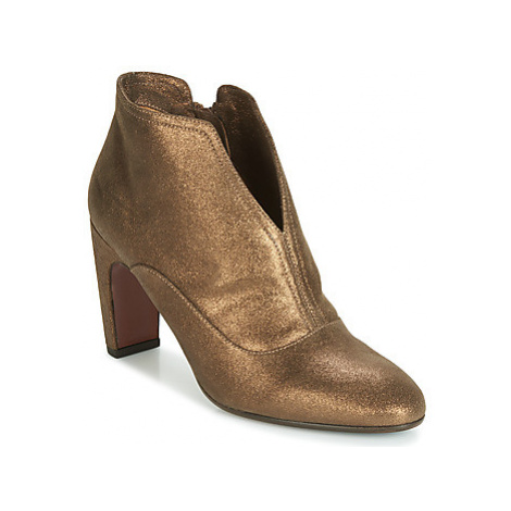 Chie Mihara FEDORA women's Low Ankle Boots in Gold