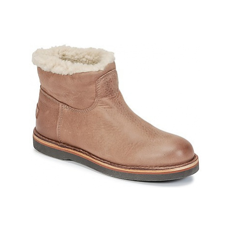 Shabbies ANKLE BOOT LOW women's Mid Boots in Brown