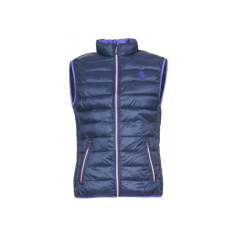 Blue men's vests