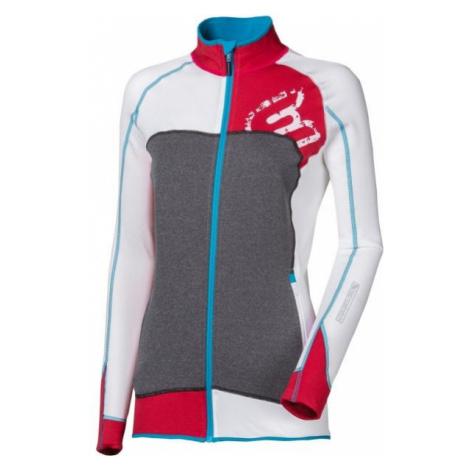 Progress REBELIA white - Women's sports hoodie
