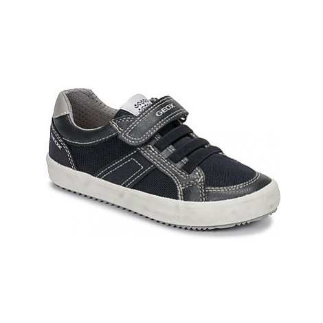 Geox J ALONISSO BOY boys's Children's Shoes (Trainers) in Black