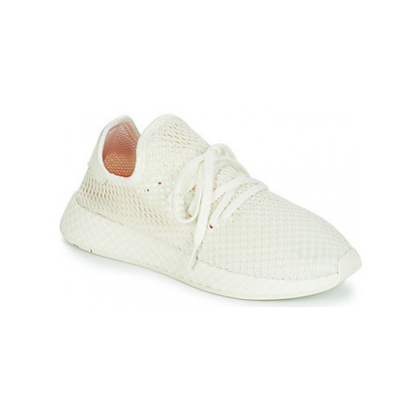 Adidas DEERUPT RUNNER women's Shoes (Trainers) in White