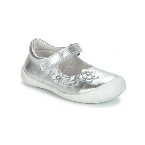 Citrouille et Compagnie MELINA BIS girls's Children's Shoes (Pumps / Ballerinas) in Silver