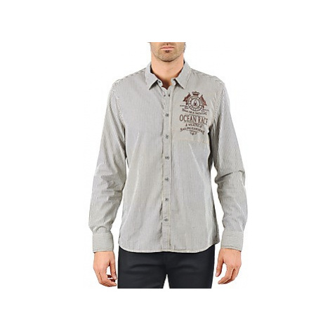 Gaastra FIRE SHIP men's Long sleeved Shirt in Grey