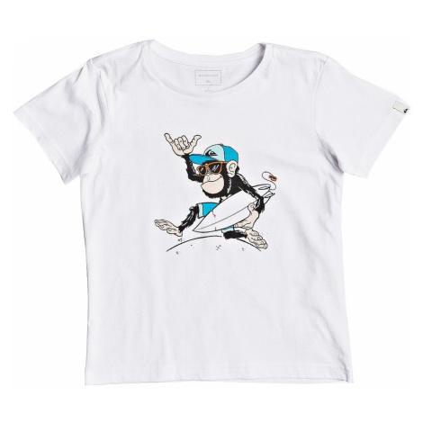 T-Shirt Quiksilver Banana Alley - WBB0/White - boy´s