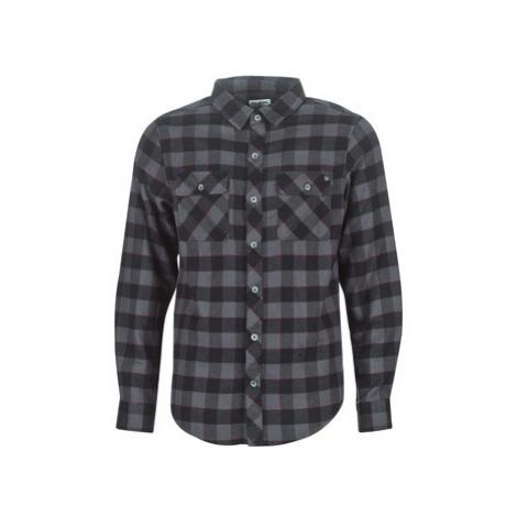 Billabong ALL DAY FLANNEL LS S men's Long sleeved Shirt in Black