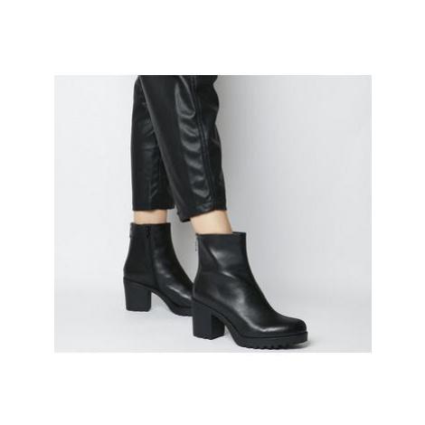 Vagabond Shoemakers Grace Back Zip Boot BLACK