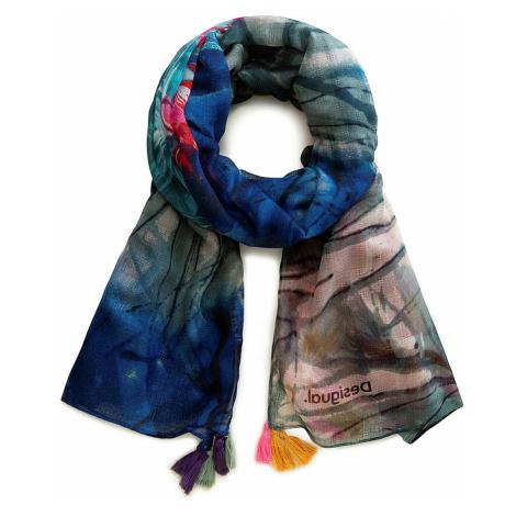 shawl Desigual 20SAWA38/Midnight - 5000/Navy - women´s