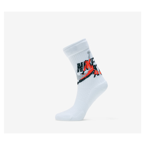 Jordan Legacy Jumpman Classic Crew Socks White/ Infrared 23/ Black