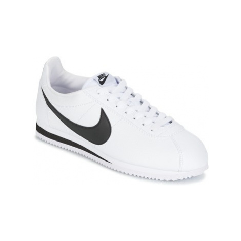 Nike CLASSIC CORTEZ LEATHER men's Shoes (Trainers) in White