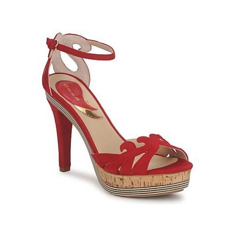 Etro 3488 women's Sandals in Red