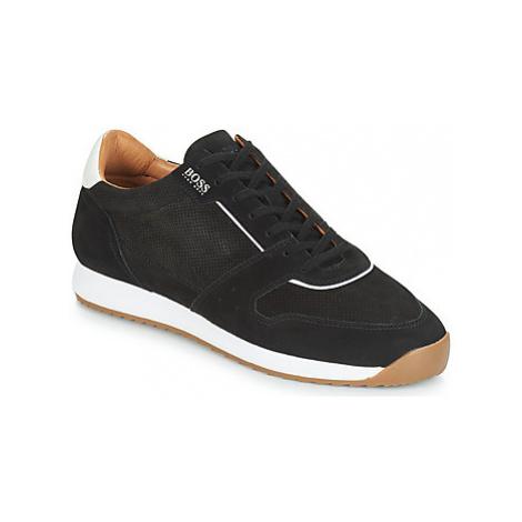 BOSS SONIC RUNNING men's Shoes (Trainers) in Black Hugo Boss
