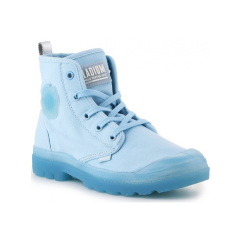 Palladium Pampalicious W 96205-422-M women's Shoes (High-top Trainers) in Blue