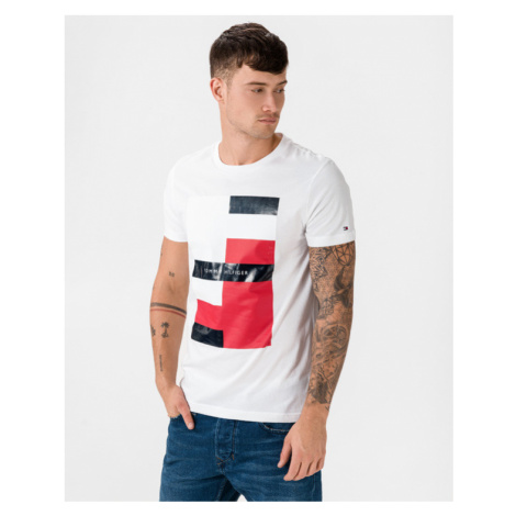 Tommy Hilfiger Global Clash T-shirt White