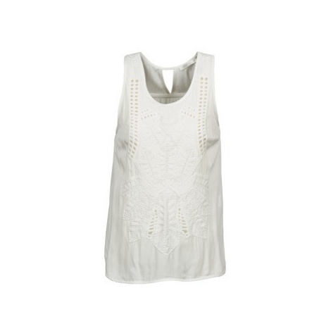 See U Soon CHELSEA women's Vest top in White