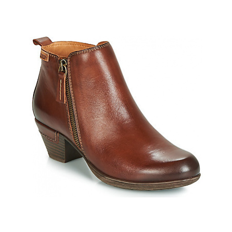 Pikolinos ROTTERDAM 902 women's Low Ankle Boots in Brown